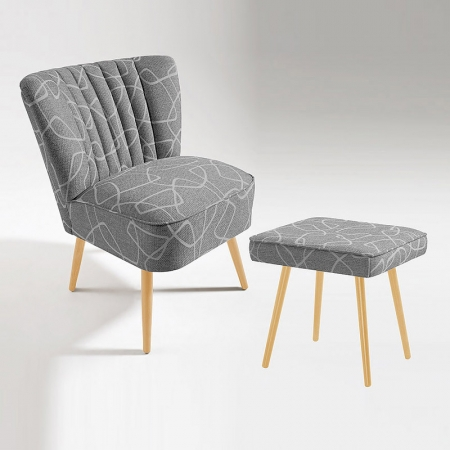 Sessel + Hocker