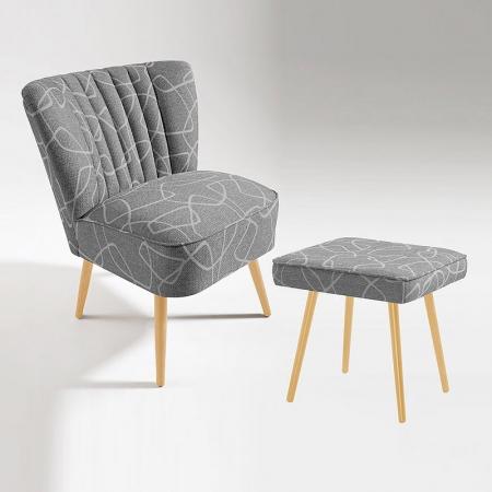 Sessel + Hocker